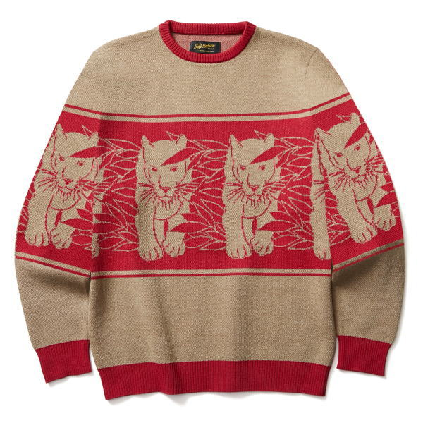 SOFTMACHINE PANTHER SWEATER