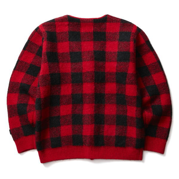 SOFTMACHINE PLAID CARDIGAN
