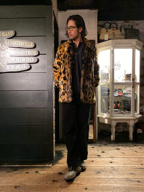 GANGSTERVILLE RISE ABOVE-FUR COAT MIDDLE