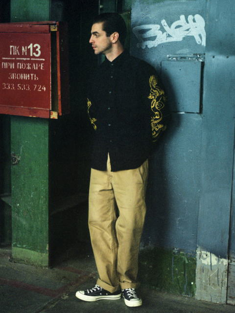 SOFTMACHINE RISE&FALL CPO GENERAL PANTS