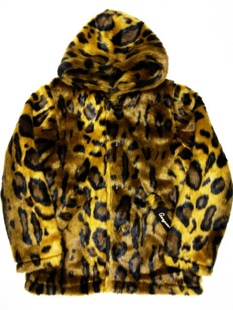 GANGSTERVILLE RISE ABOVE-FUR HOODIE