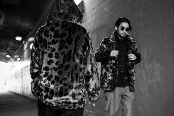 GANGSTERVILLE RISE ABOVE-FUR HOODIE RISE ABOVE-FUR COAT