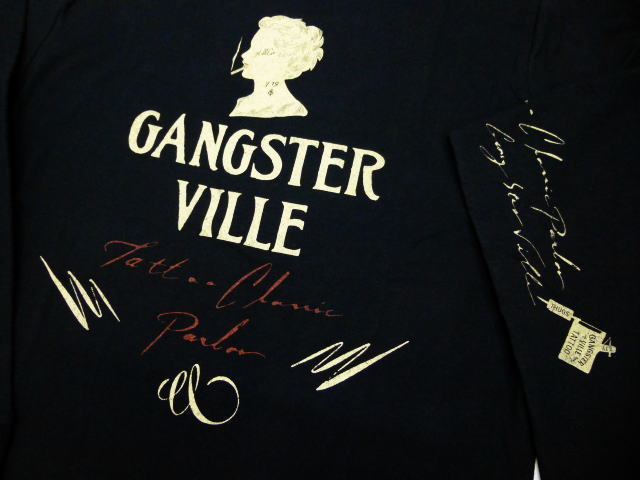 GANGSTERVILLE TATTOO LADY-L/S T-SHIRTS