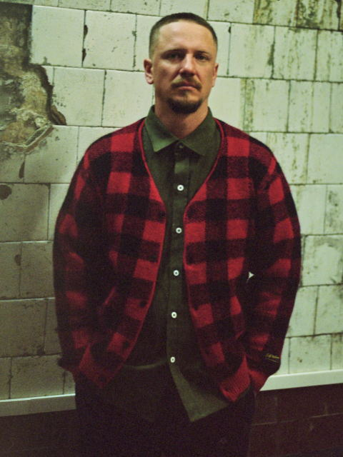 SOFTMACHINE PLAID CARDIGAN FATE SHIRTS