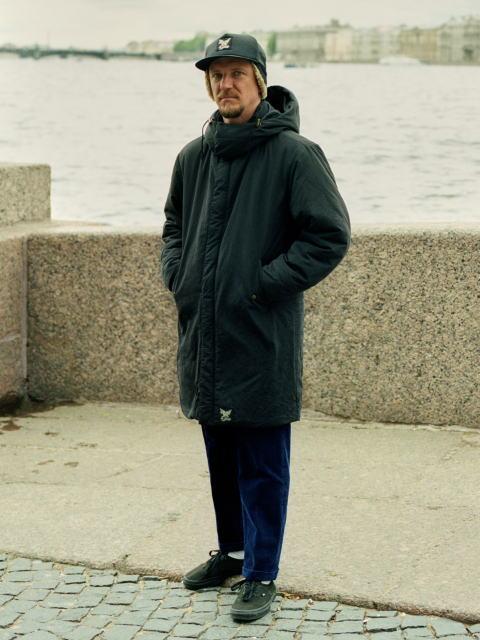 SOFTMACHINE UNWIND COAT LAVEY CORD FLIGATE CAP