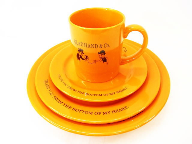 GLAD HAND TABLE WARE COMPLETE SET