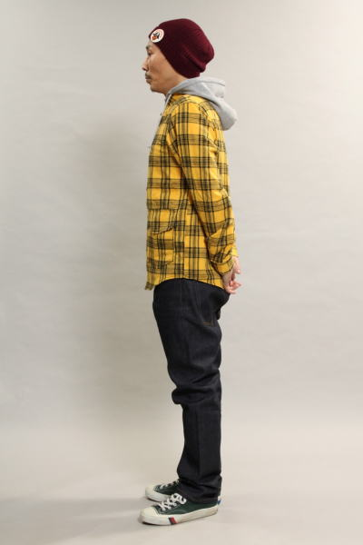 INTERFACE HOODED NEL SH DENIM PT Type-S
