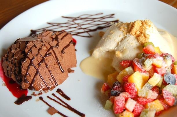 ショコラムース&りんごのババロア2