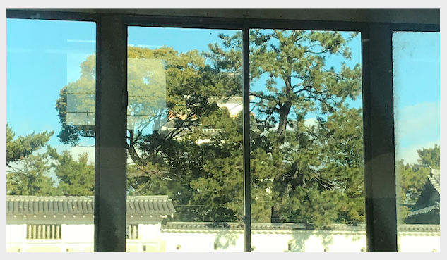松山城山陽新幹線2020年2月1日