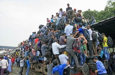 【苦笑】バングラディッシュの旅行風景・・・おいおい!
