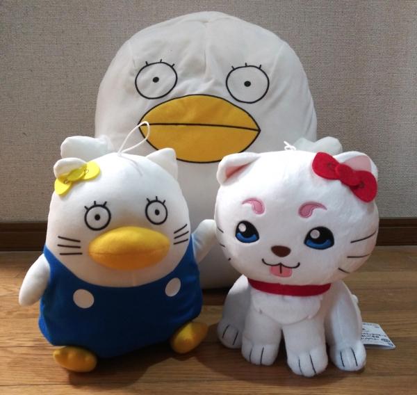 銀魂×サンリオキャラクターズ でっかいぬいぐるみ~定春&エリザベス