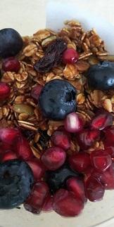 DSC_1753Fresh Fruit Granola Bowl