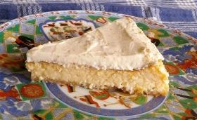 デンマーク産クリームチーズでチーズケーキ 仕上げ