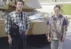 イラクにて、井ノ上書記官と