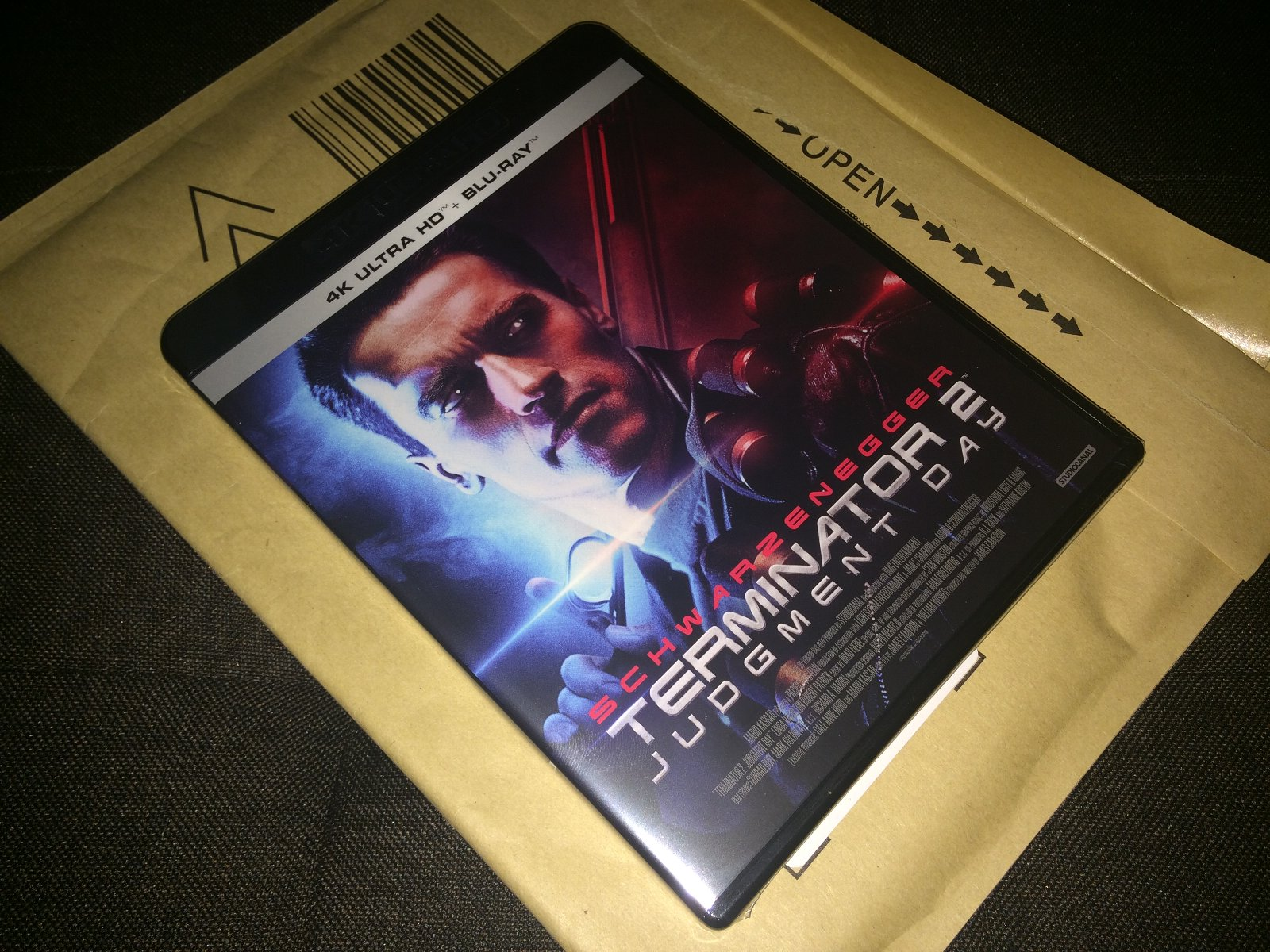 『ターミネーター2』4K-UHD BD