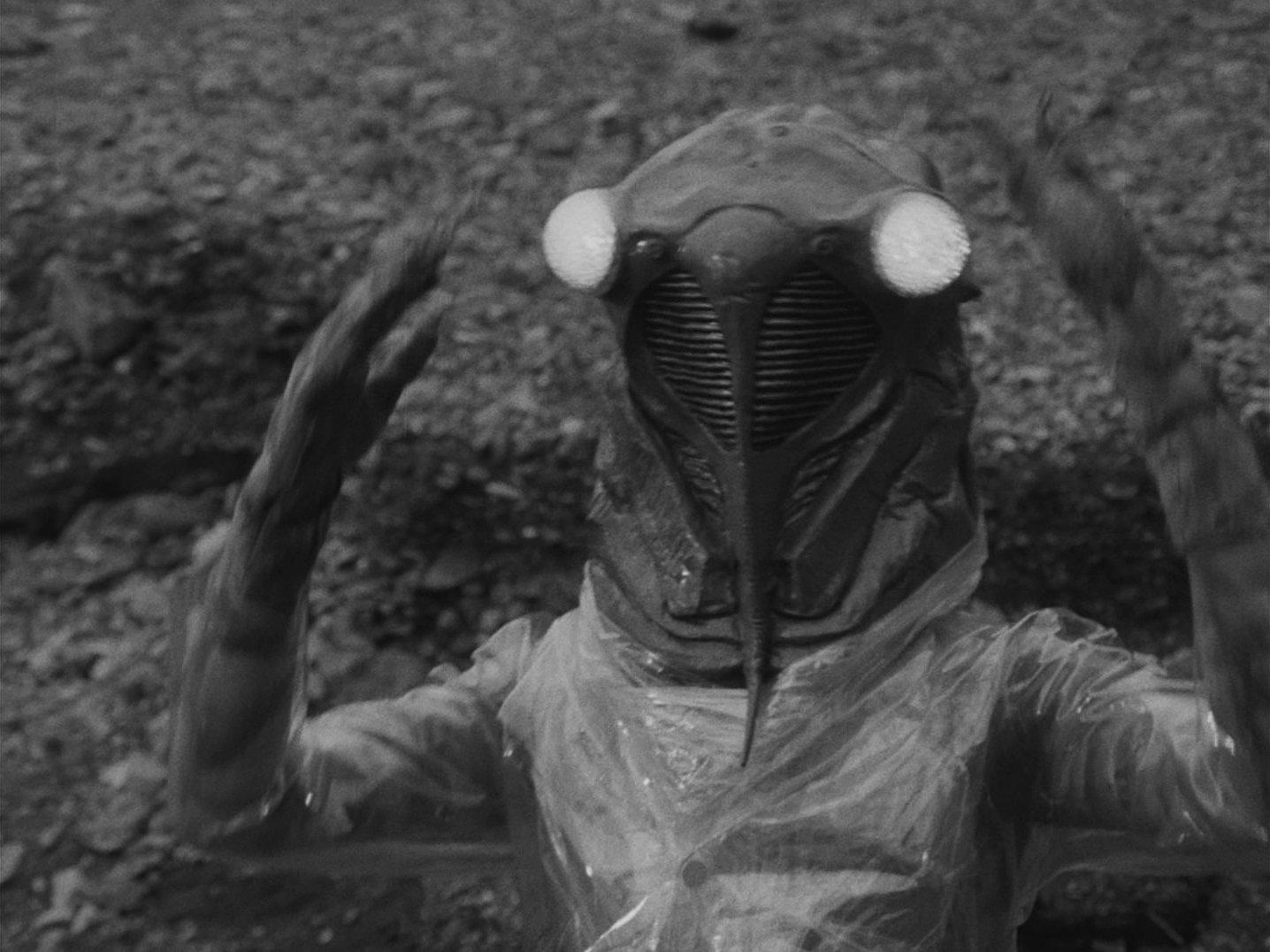 」『ウルトラQ』第16話 セミ星人