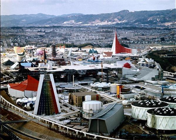 大阪万博会場(1970年)