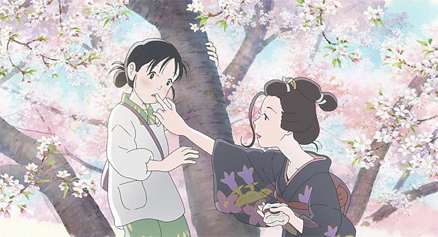 『この世界の(さらにいくつもの)片隅に』桜の木の上で