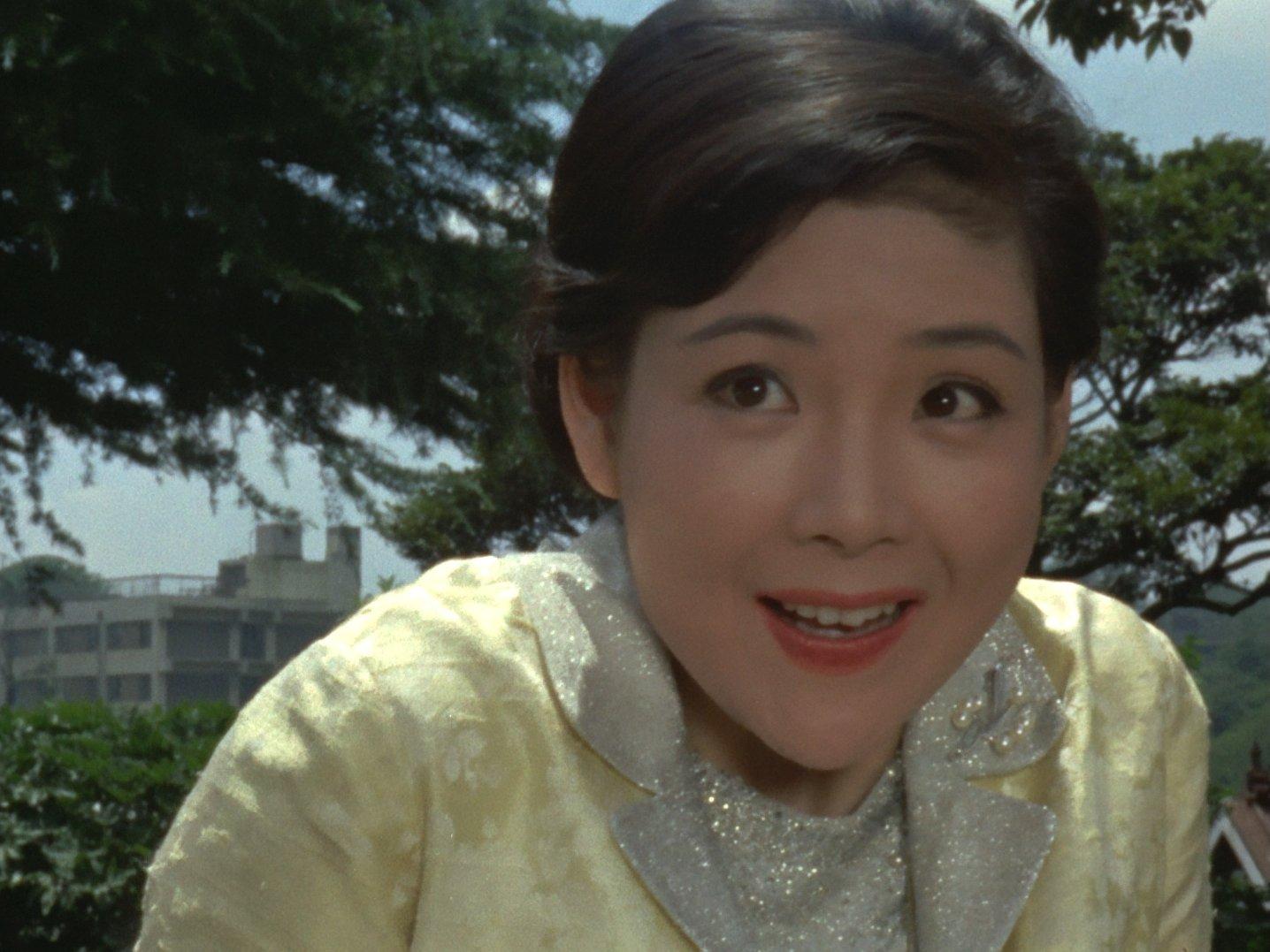 『ウルトラセブン』第2話 中真千子さん