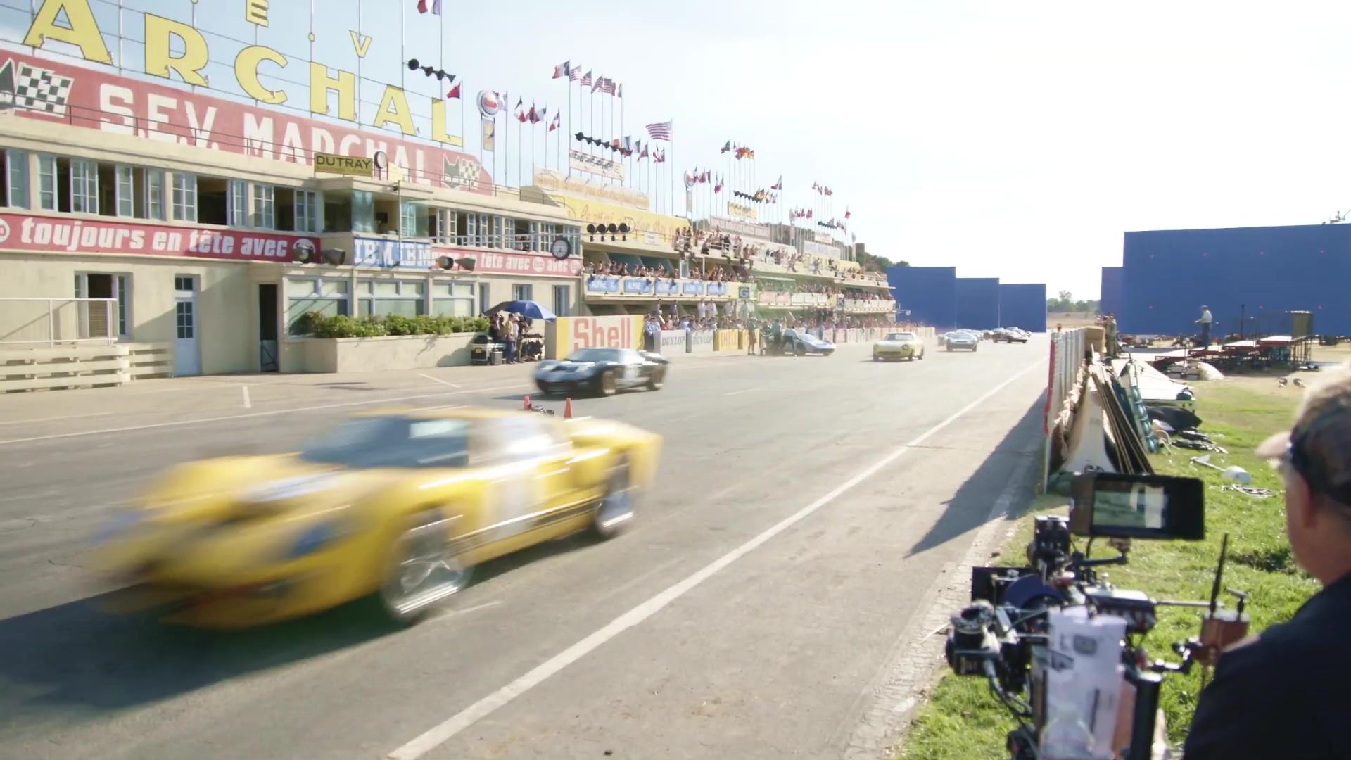 『フォードvsフェラーリ』オープンセット