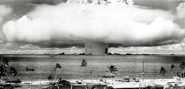ビキニ環礁での核実験
