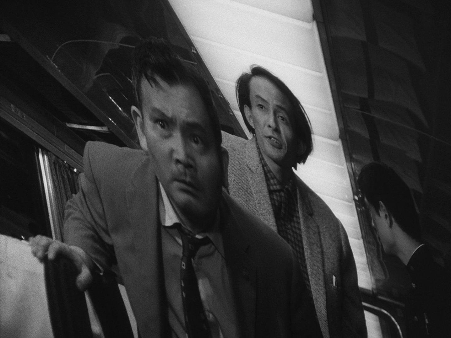 『ウルトラQ』第28話 車内の沢村