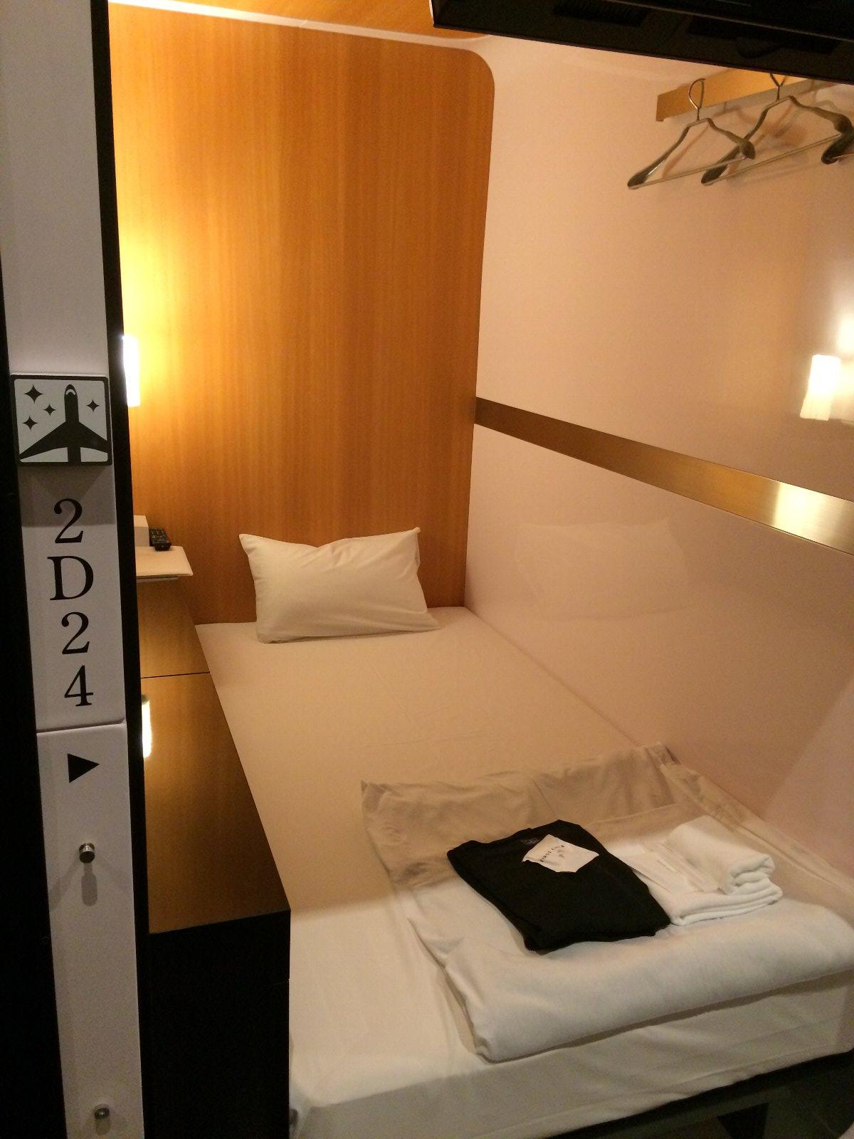 20200222 カプセルホテルなのに大きな部屋