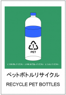 ペットボトルリサイクルのテンプレート