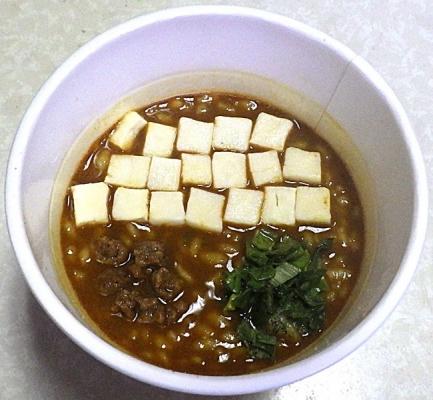 9/2発売 麻婆カレーメシ トレンディ(できあがり)