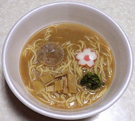 8/26発売 麺NIPPON 和歌山特濃豚骨しょうゆ(できあがり)