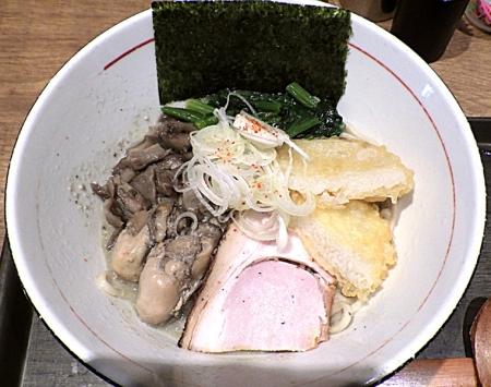 麺と心 7 牡蠣まぜそば