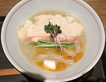 麺と心 7 ~秋を彩る~ 蟹白湯らーめん