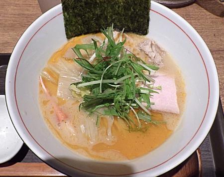 麺と心 7 花咲ガニの濃厚蟹そば 2019年ver.