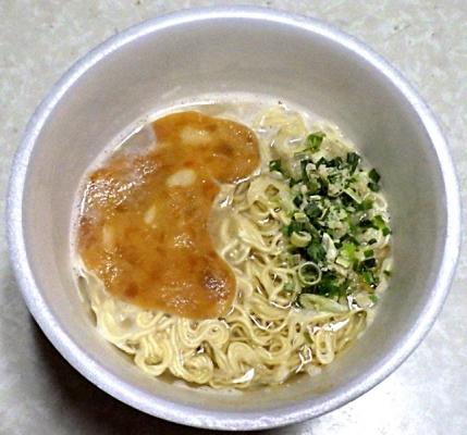 1/20発売 サンポー 焼豚ラーメン×初代秀ちゃん(できあがり)