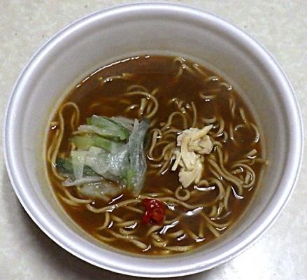 9/16発売 凄麺 カレー南ばんそば(できあがり)