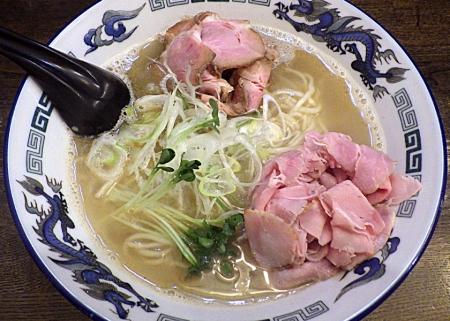 綿麺 丸鶏海老塩細麺