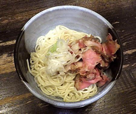 綿麺 16周年! 黒トンコツ細麺(替え玉)