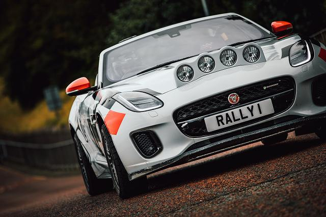 Jaguar F-TYPE Rally Car_Wales Rally GB_051019_07