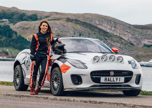 Jaguar F-TYPE Rally Car_Wales Rally GB_Jade_Paveley_051019_09