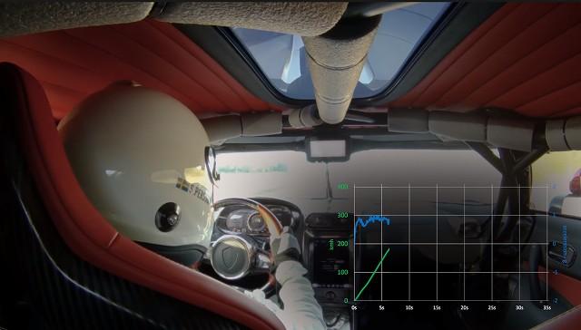 Koenigsegg Regera - 0-400-0 (0-250-0 mph) On-board Footage