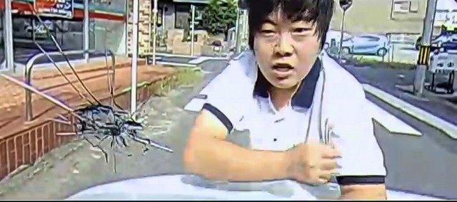 フロントガラス破壊男 (1)
