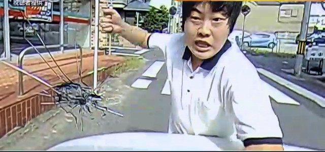 フロントガラス破壊男 (2)