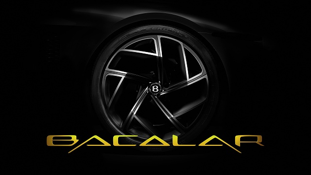 Bentley Mulliner Bacalar - Name Reveal Image