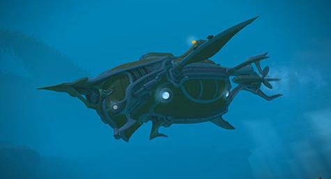FF14 サブマリンボイジャー 潜水艦