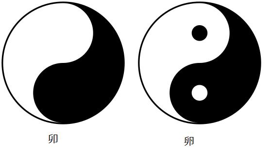 260px-Yin_yang卯の意味