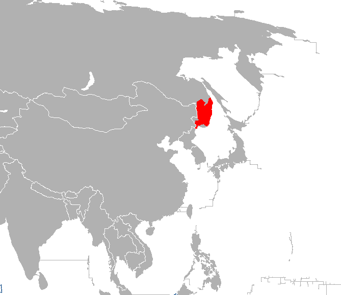 Panthera_tigris_altaica_distribution_map下朝鮮人天皇一族供の出身地域
