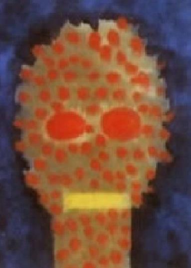 a0046233_2131186放射能被曝における現実の実態と同様の精神崩壊を描いた絵