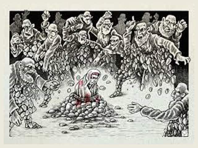 stoning-to-deathネットサラ死魔供の誹謗中傷の暴言は彼らの意志