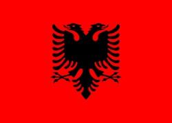 250px-Flag_of_Albaniaアルバニア
