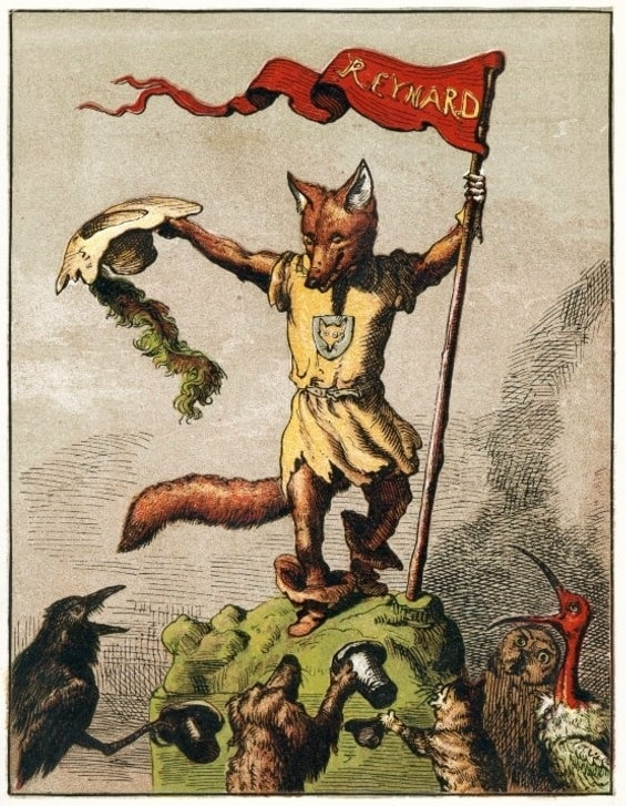 Reynard-the-fox god